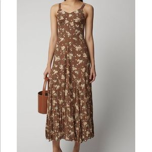Michael Kors Collection crushed silk dress US4.
